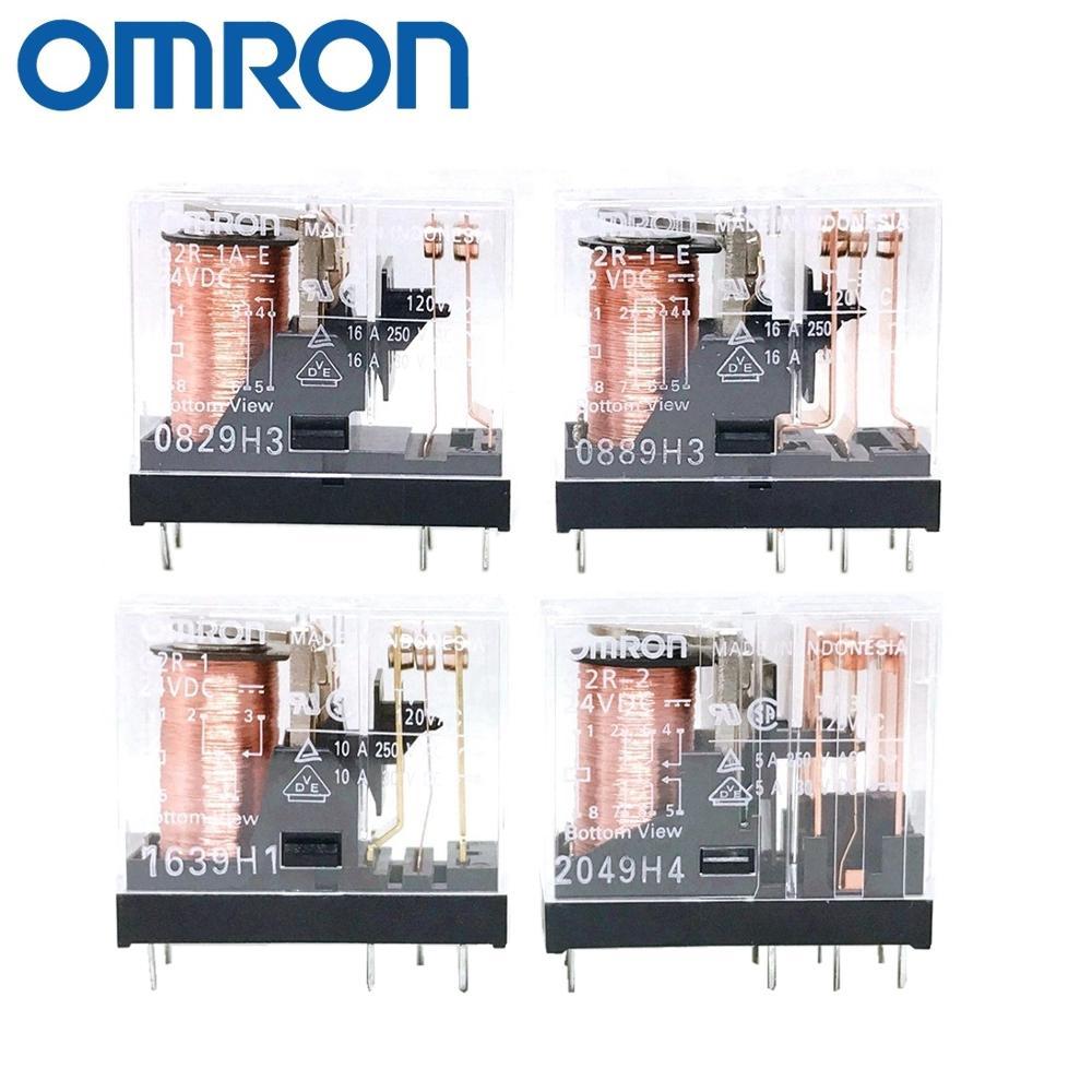 OMRON RELAY G2R-1 G2R-2 G2R-1-E G2R-1A-E 12V 24V 110V 230V Brand new and original relay